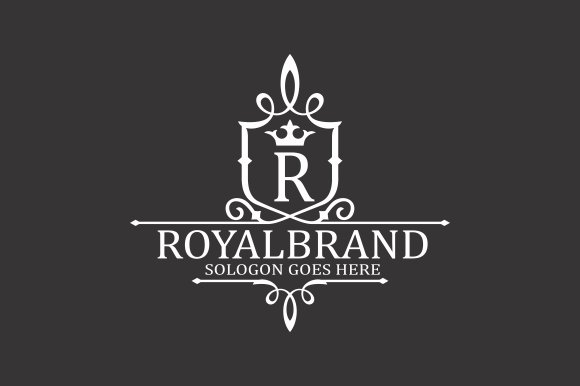 Royal Brand Logo V3 in Logo Templates - product preview 3