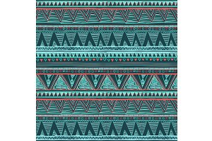 . Vector Ethnic seamless pattern