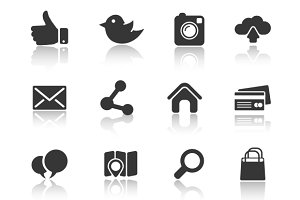 Icons for web and mobile