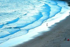 Surfspot, Algarve, Portugal