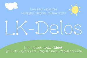 Delos Playful Kids Inspired Font