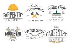 Construction tool logo vector