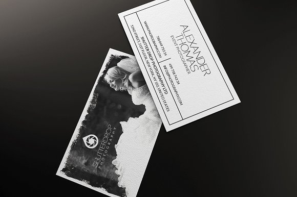 Photography Business Card Business Card Templates Creative Market - Photography business card templates