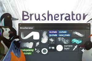 Brusherator for Photoshop CC+!