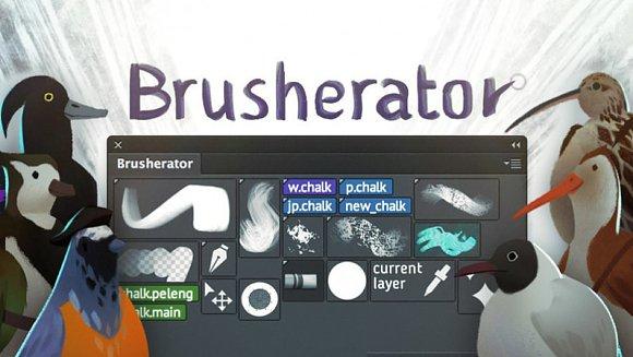 Brusherator For Photoshop CC