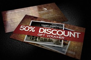 Old Gift Voucher Card Template