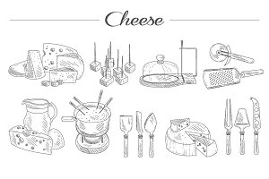 Cheese and Cutting Tools