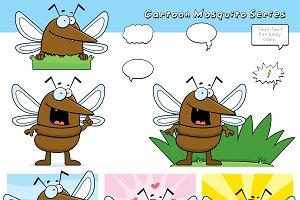 Cartoon Mosquito Series