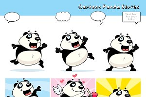 Cartoon Panda Series