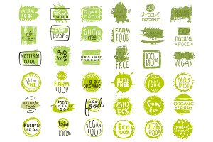 Bio Food Green Lables