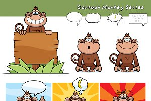 Cartoon Monkey Series
