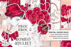 Romeo and Juliet Valentine Paper Pac