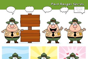 Cartoon Park Ranger Series