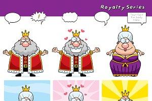 Cartoon Royalty Series