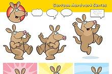 Cartoon Aardvark Series
