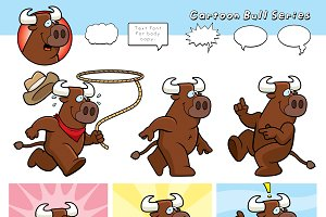 Cartoon Bull Series