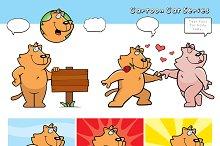 Cartoon Cat Series