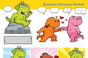 Cartoon Dinosaur Series