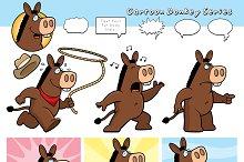 Cartoon Donkey Series