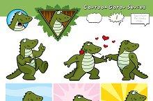 Cartoon Gator Series