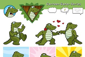 Cartoon Gator Series