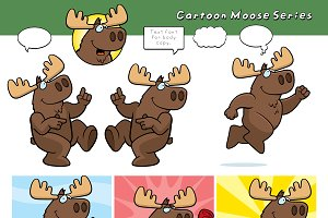 Cartoon Moose Series