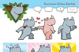 Cartoon Rhino Series