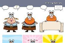 Cartoon Viking Series