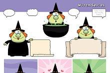 Cartoon Witch Series