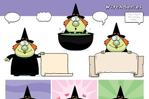 Cartoon Witch Series