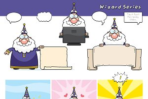 Cartoon Wizard Series