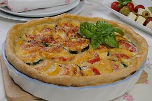 quiche with zucchini
