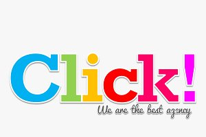 Colorful Click! PowerPoint Template