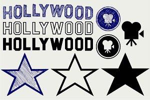 Hollywood symbol SVG