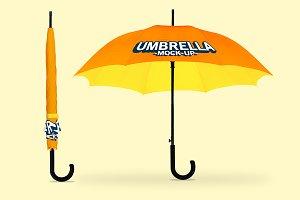 Open/Closed Umbrella Mock-Up