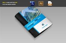 Corporate Business Bi-Fold Brochure