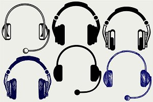 Headphones SVG