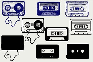 Audio cassette SVG