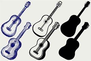 Guitar SVG