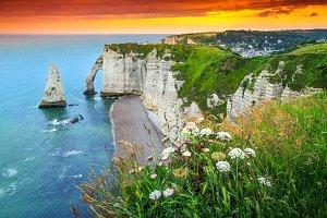 Etretat,Normandy,France