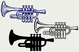 Trumpet SVG