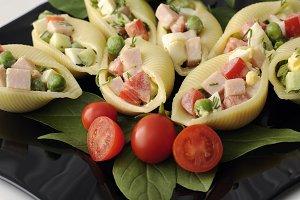 Sea shells pasta