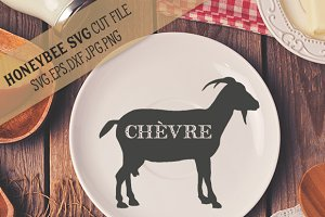 French Goat Silhouette