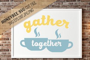Gather Together Coffee Cups