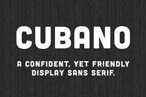 Cubano Font