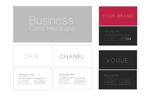 80% Off - Business Cards Mockup