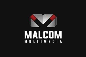 M Logo • Letter M Logo Template