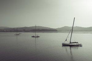 Catamarans.