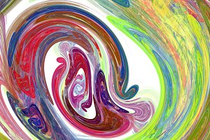 Colorful twirl abstract background