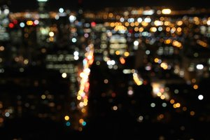 City Lights Bokeh